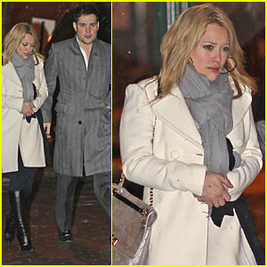 Hilary Duff & Mike Comrie: Snowy Sweethearts