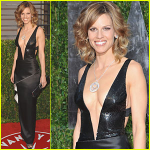 Hilary Swank Shows Some Serious Skin