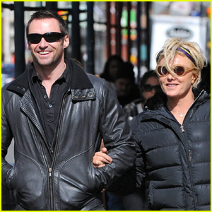 Hugh Jackman & Deborra-Lee Furness: Romantic SoHo Stroll