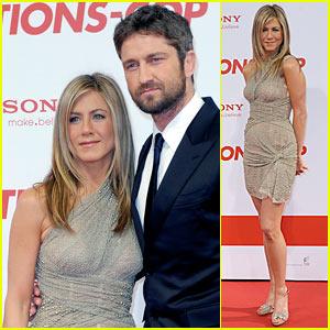 Jennifer Aniston Premieres Bounty Hunter in Berlin