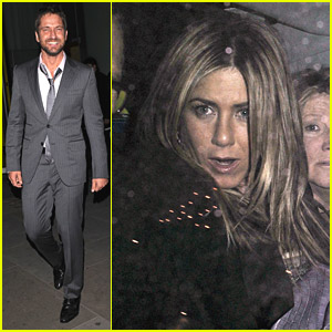 Jennifer Aniston & Gerard Butler: Hotel Head Out