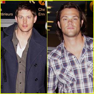 Jensen Ackles & Jared Padalecki: Vancouver Mates