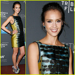 Jessica Alba: Tribeca Film Festival Party!