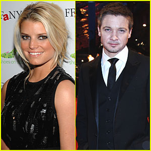 Jessica Simpson & Jeremy Renner 'Flirting Up A Storm'?