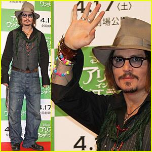 Johnny Depp Parks It in Tokyo