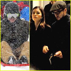 Justin Timberlake & Jessica Biel: Sweethearts in Switzerland