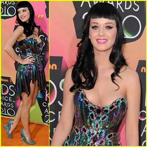 Katy Perry - Kids' Choice Awards 2010 Orange Carpet
