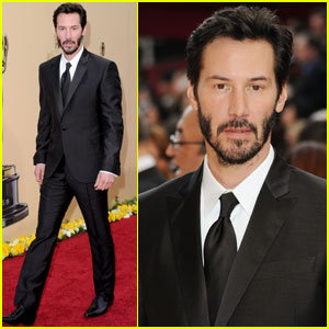 Keanu Reeves -- Oscars 2010 Red Carpet