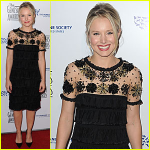 Kristen Bell is Genesis Awards Amazing
