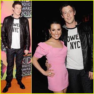Lea Michele & Cory Monteith: Kids' Choice Awards 2010!