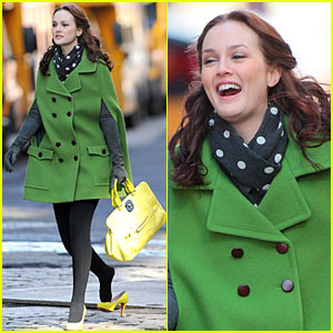 Leighton Meester Loses A Shoe, Promises Two OMG Moments