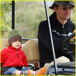 Levi McConaughey is a Golf Cart Cutie