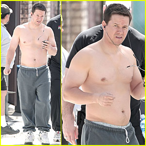 Mark Wahlberg Beefs Up For 'The Fighter'