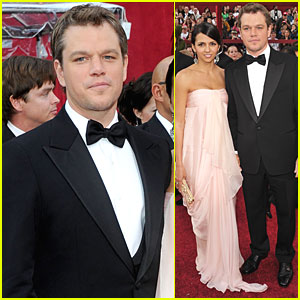 Matt Damon -- Oscars 2010 Red Carpet