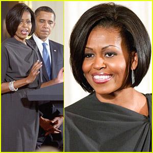 Michelle Obama Celebrates International Women's Day