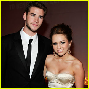 Miley Cyrus & Liam Hemsworth: Post-Oscars Party Pair!