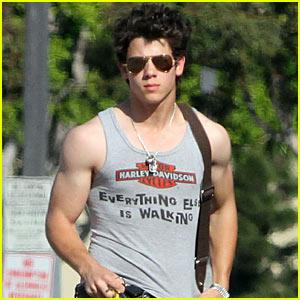 Nick Jonas: Muscle Man