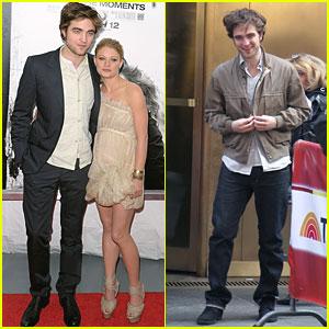 Robert Pattinson: 'Remember Me' in NYC!