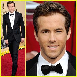 Ryan Reynolds -- Oscars 2010 Red Carpet