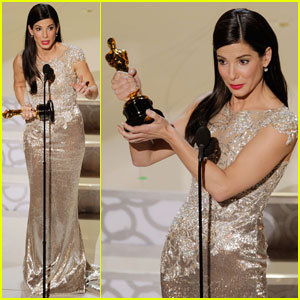 Sandra Bullock Wins Best Actress Oscar!