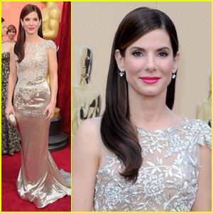 Sandra Bullock -- Oscars 2010 Red Carpet