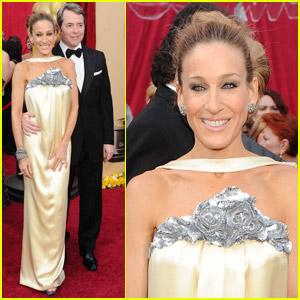 Sarah Jessica Parker & Matthew Broderick -- Oscars 2010 Red Carpet