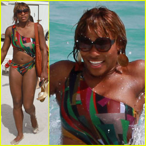 Serena Williams: Bikini Beach Babe