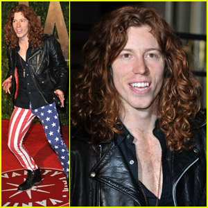 Shaun White: Partying With Patriotic Pants