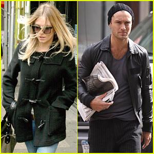 Jude Law & Sienna Miller: Cafe Gitane Couple