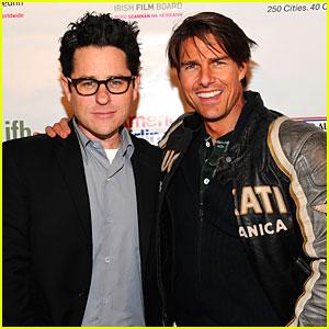 Tom Cruise & J.J. Abrams Talk 'Mission: Impossible IV'
