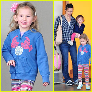 Violet Affleck is After School Smiley