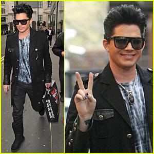 Adam Lambert is the Top Man