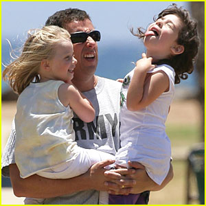 Adam Sandler: Sunday with Sadie!
