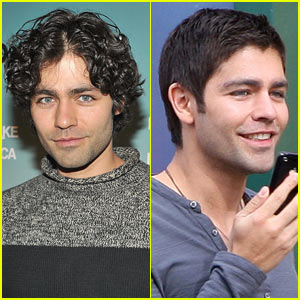 Adrian Grenier Has Short Hair -- No More Curls!