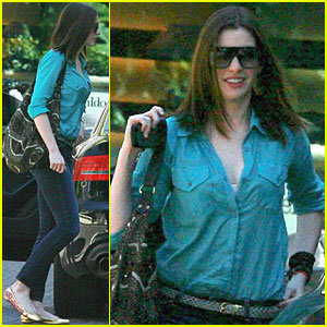 Anne Hathaway: Looking to Adopt?