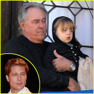 Brad Pitt's Dad Babysits Knox-Jolie Pitt