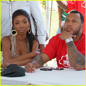 Is brandy still dating flo rida