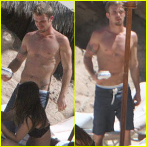 Cam Gigandet: Shirtless Mexico Man