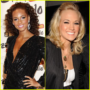 Alicia Keys & Carrie Underwood Give Back on Idol