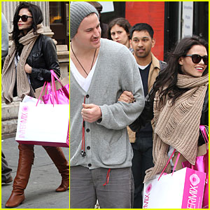 Channing Tatum & Jenna Dewan are Soho Sweethearts