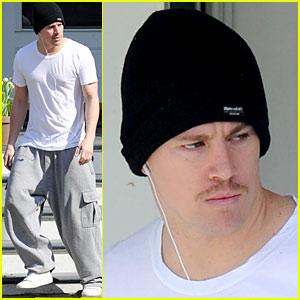 Channing Tatum: Mustache Man