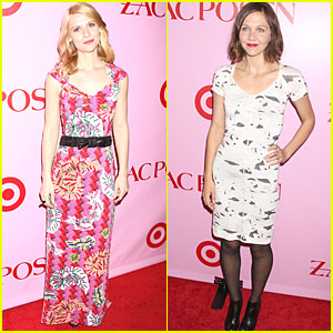 Maggie Gyllenhaal & Claire Danes are Right on Target