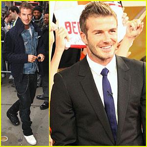 David Beckham: Good Morning, America!