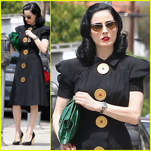 Dita Von Teese: Spare Change Anyone?