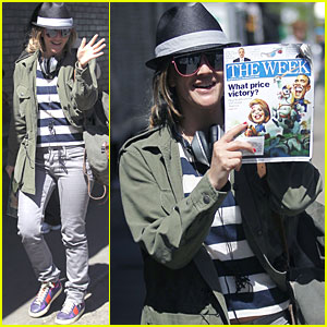 Drew Barrymore Starts 'The Week' Off Right