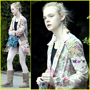 Elle Fanning: Ballet Class, Belated Birthday!