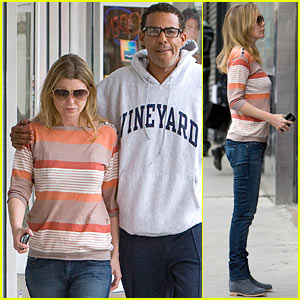 Ellen Pompeo: Adidas with Chris Ivery!