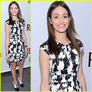 Emmy Rossum is Radiant at 'Red'