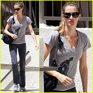 Gisele Bundchen Lives In Harmony with Nature