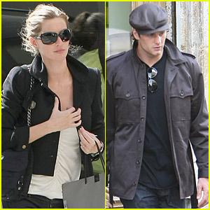 Gisele Bundchen & Tom Brady: Seine River Shopping